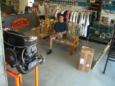 Trevor at Pierside VW parts Huntington Beach CA 1 – Trevor